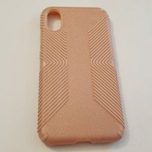 Speck Presidio Grip Pink Glitter for iPhone X